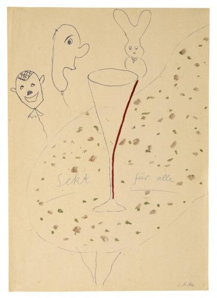 """Sekt für alle (Champagne for all)"", ca. 1963"