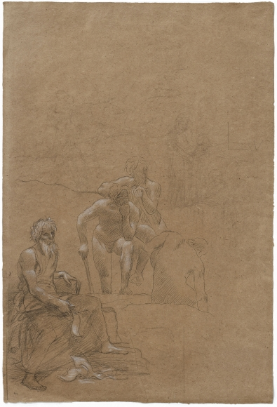 """""""Les Archéologues (The Archaeologists)"""", 1889"""