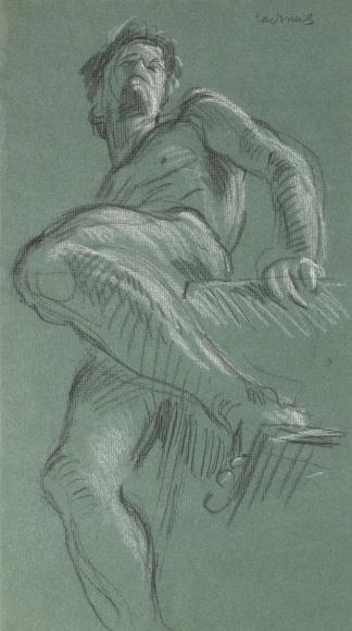 """Untitled Nude Study"", ca. 1970-1979"