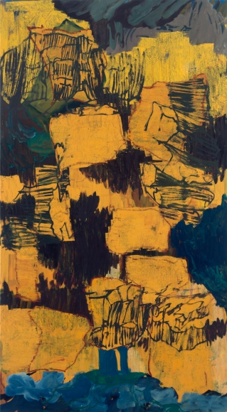 """""""Untitled"""", 1997 Oil on canvas"""