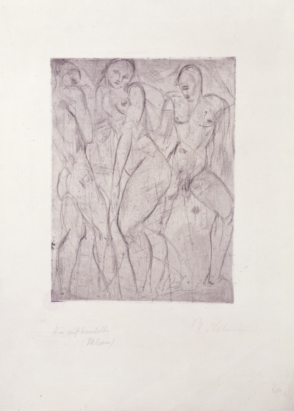 """""""Die Sklavin"""", 1914"""