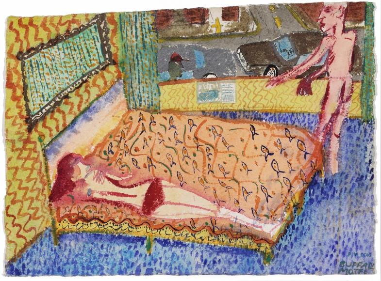 """Buffalo Motel"", 1980"