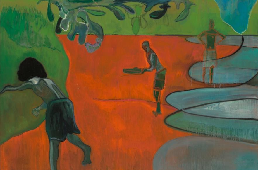 """Paragon"", 2006 Oil on linen"