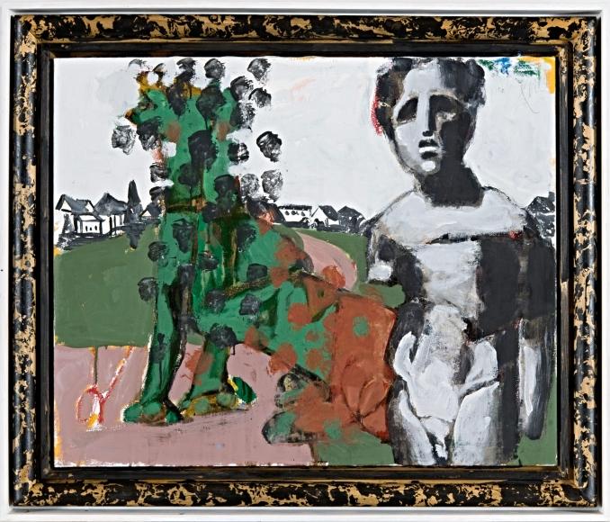 """Delos"", 2011 Mixed media on canvas"