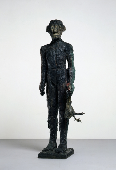 """""""Ganymed"""", 1985 Painted bronze"""