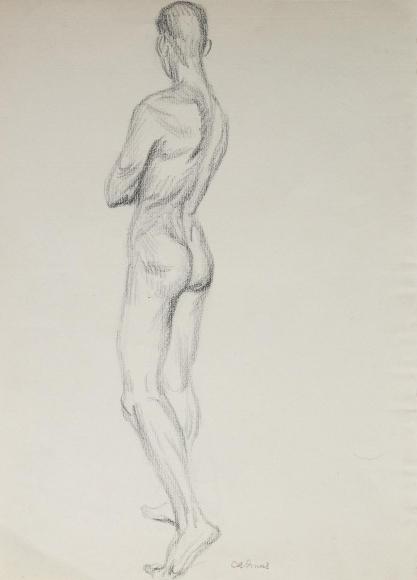 """Untitled Nude Study"", ca. 1930-1939"