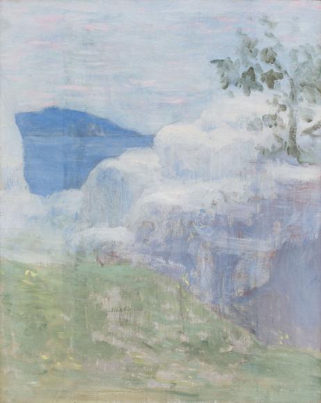 """""""Esquisse pour Vision Antique (Sketch for Antique Vision)"""", ca. 1884-1885"""