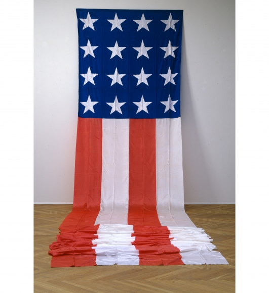 """The American Flag"", 1974"