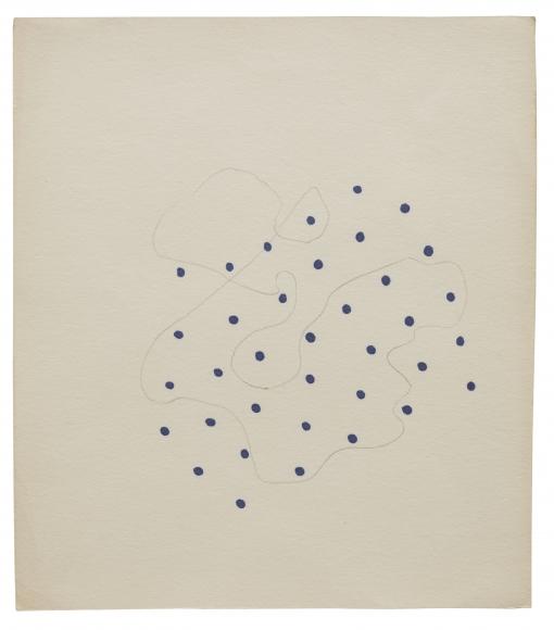 """Untitled (Dots)"", ca. 1968"