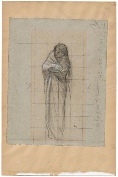 """""""Étude pour La Charité (Study for Charity)"""", 1864"""
