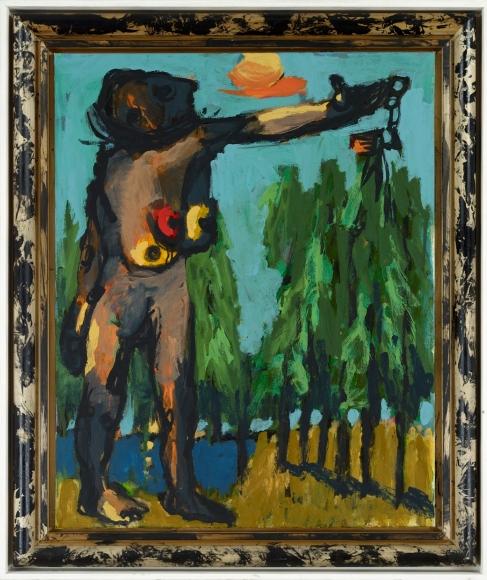 """Abend"", 2009 Acrylic on canvas"