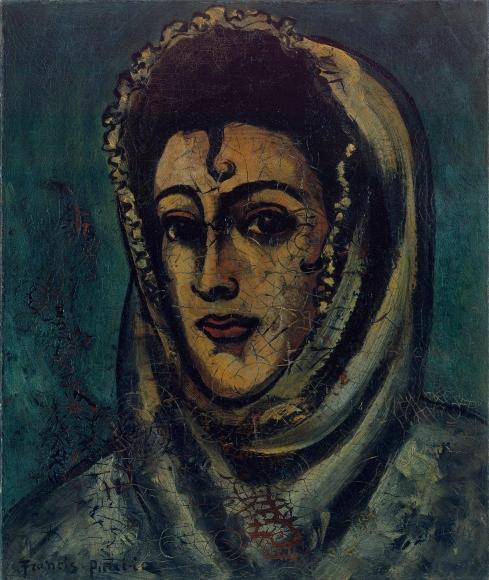 """FRANCIS PICABIA, """"Portrait de Femme"""", ca. 1935"""