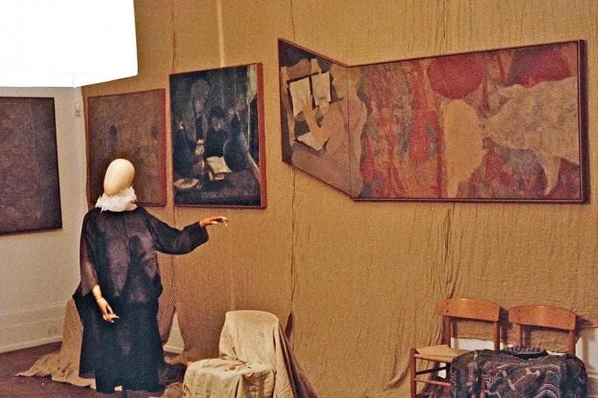 "Installation view: ""Kai Althoff"", Michael Werner Gallery, London, 26 September through 15 November 2014, 3"