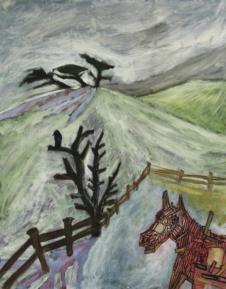 """Barn Horse"", 1986"