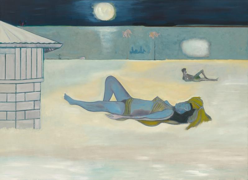 """Night Bathers"", 2019"