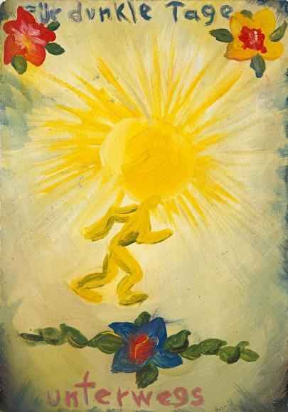 """""""Für dunkle Tage unterwegs (For the Dark Days on the Road)"""", 1969"""