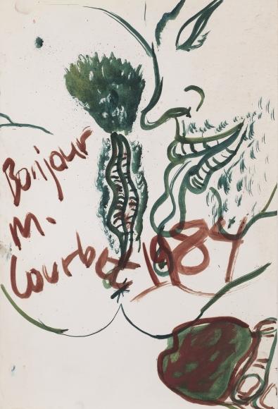 """""""M. Courbet"""", 1984"""