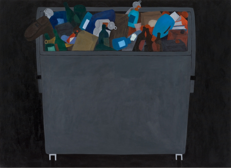 """Mülltonne (Dumpster)"", 2019"