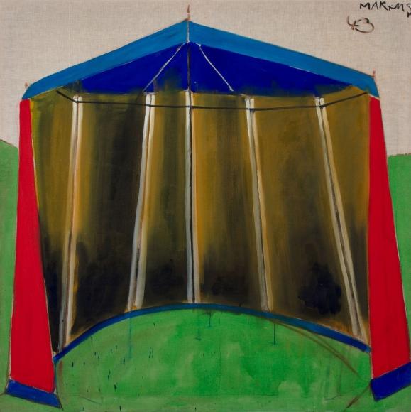 """""""Zelt 43 – dithyrambisch (Tent 43 – dithyrambic)"""", 1965"""