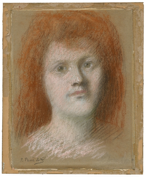 """""""Portrait présumé d'Emma Dobigny (Presumed Portrait of Emma Dobigny)"""", ca. 1880"""