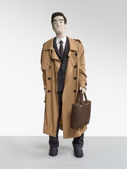 """""""Herr im Trenchcoat (Gentleman in a Trench Coat)"""", 2019"""
