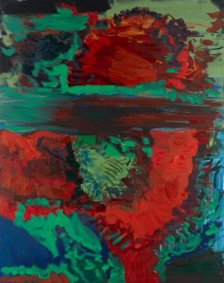 Untitled, 2011 Tempera on canvas