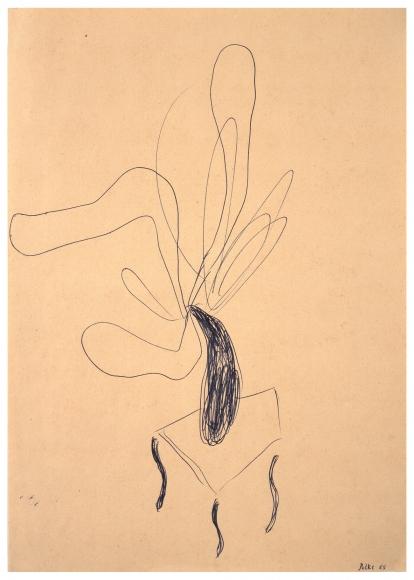 """Untitled"", 1965 Ballpoint pen on paper"