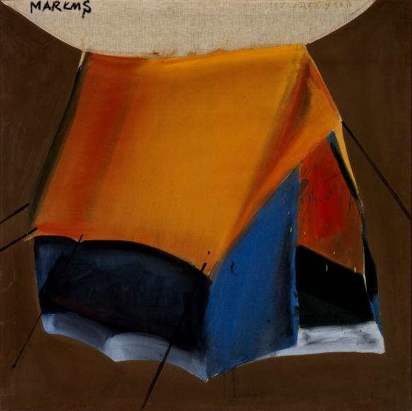 """""""Zelt – dithyrambisch (Tent - dithyrambic)"""", 1965"""
