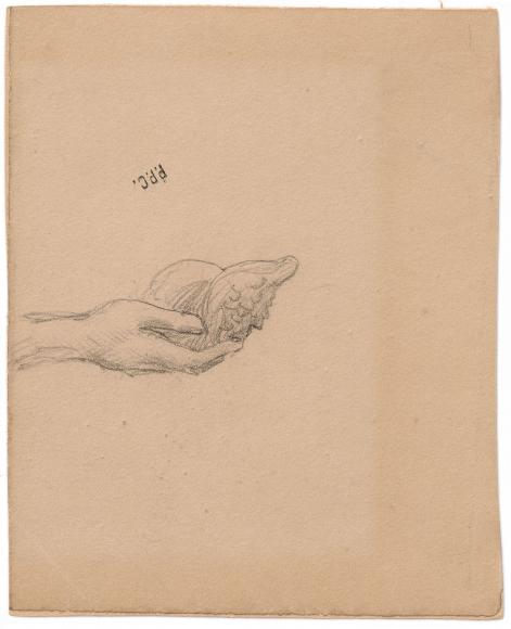 """""""Étude pour La Sorbonne (Study for The Sorbonne)"""", 1889"""