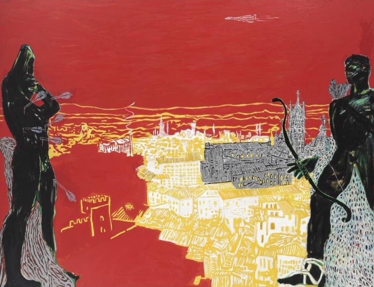 """""""Red Sienna"""", 1985"""