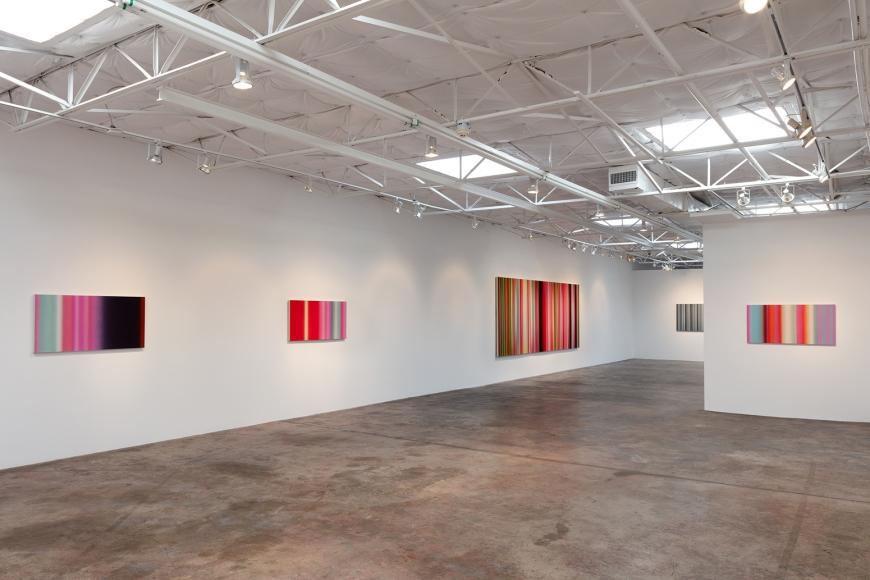 Tim Bavington, Blow-up, installation view.
