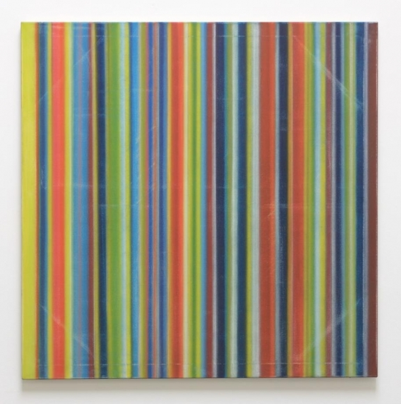 El Pinche, 2015 / Synthetic polymer on canvas / 48 x 48 inches