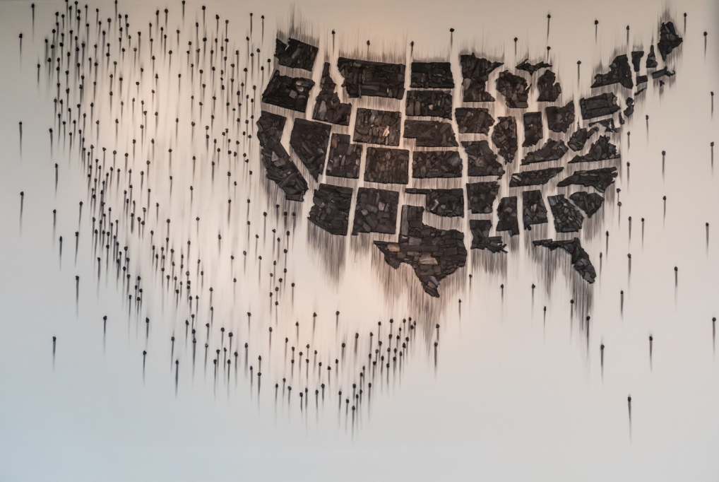 Teresita Fernández: Fire (United States of the Americas) 2
