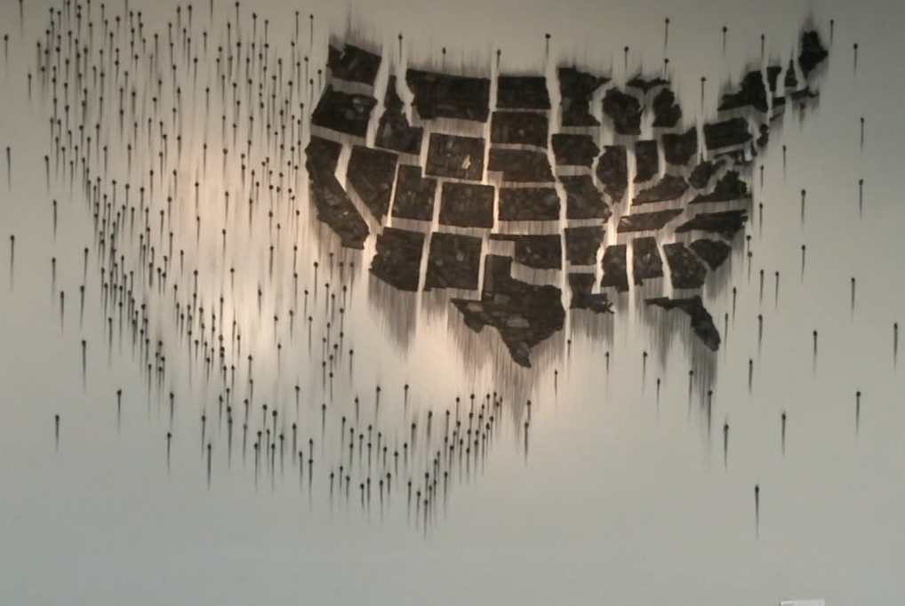 Teresita Fernandez: Fire (United States of the Americas) 2