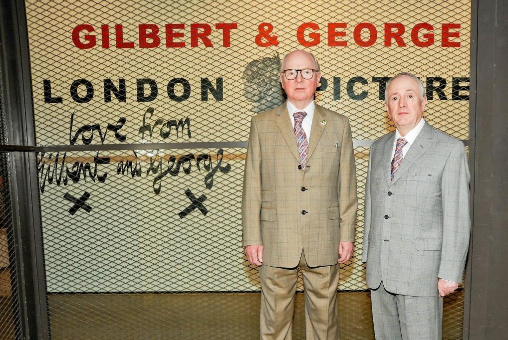 吉爾伯特與喬治