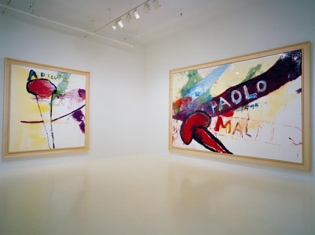 Adieu Paintings 1995-1996