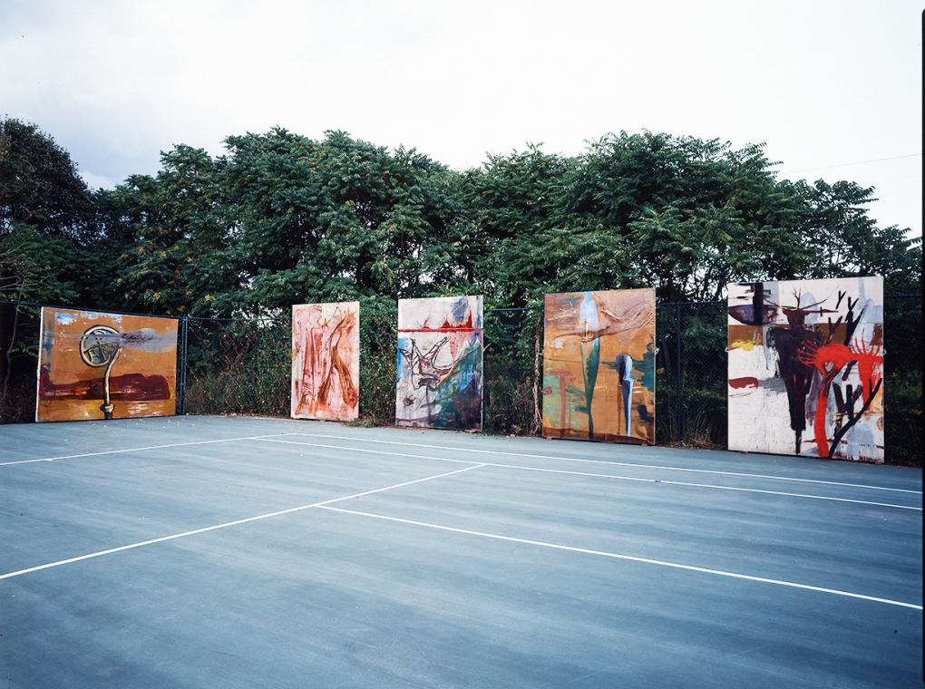 Tennis Court Paintings 1983