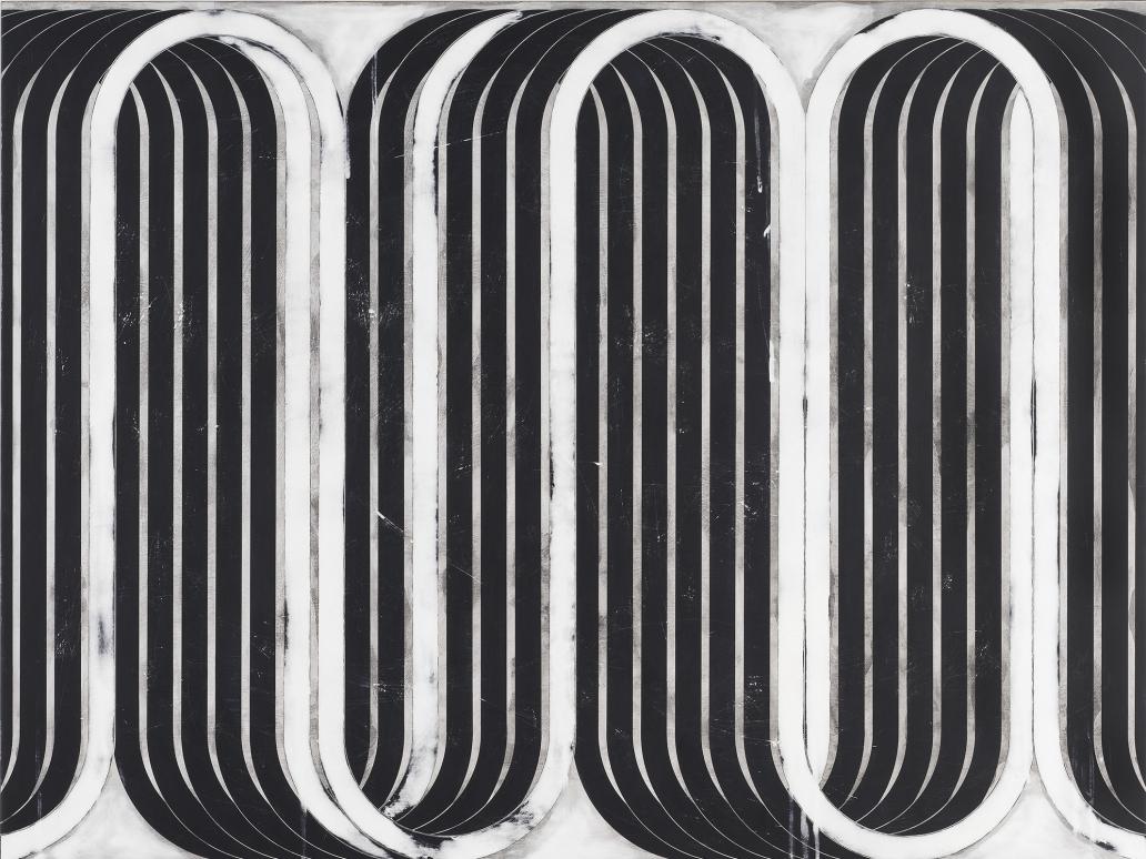 Davide Balliano (b. 1983) UNTITLED_0133, 2019 Plaster, gesso & varnish 36 x 48 inches 91.4 x 121.9 cm Inv# 12726