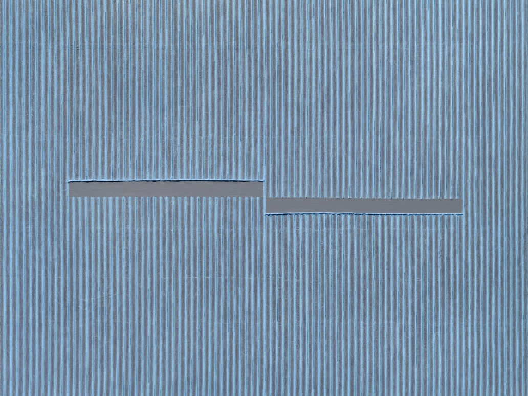Park Seo-Bo (b. 1931)  Ecriture 40-81, 1981 / 2020  silk-screen print  25.59 x 35.83 inches  65 x 91 cm  Edition 15/50, 5 APs