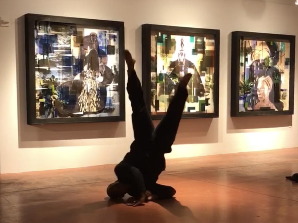Image of man dancing
