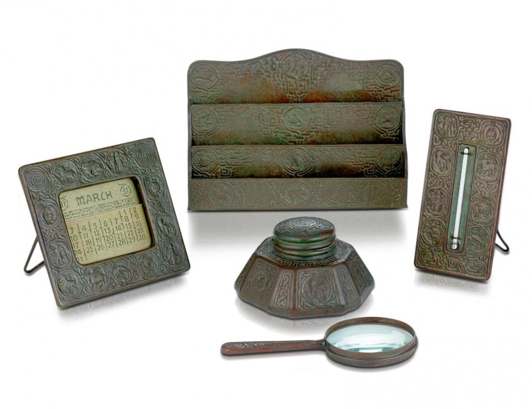 Zodiac Desk Set