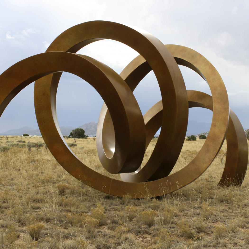 Contours in Metal - Sculptures by Gino Miles