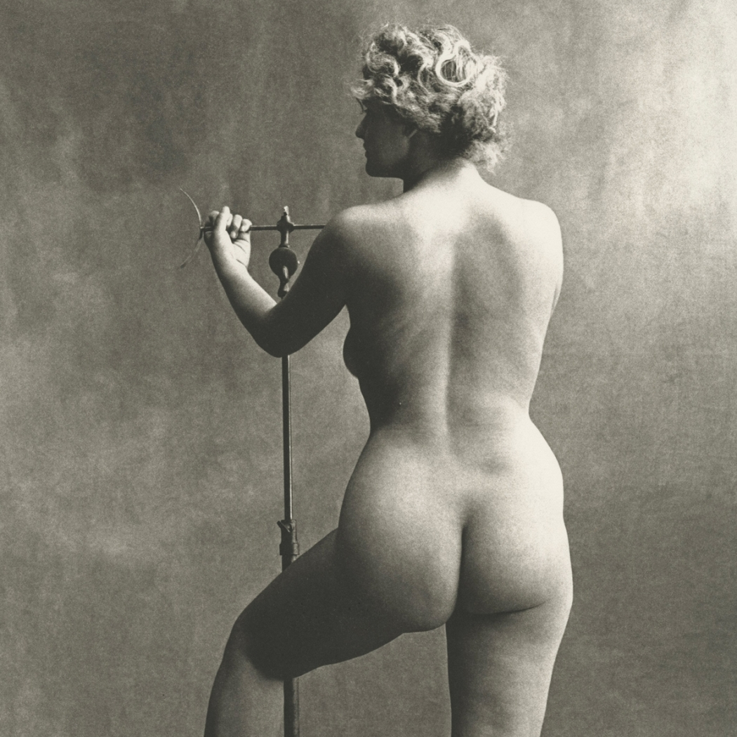Irving Penn, Sculptor's Model, Paris, 1950, Howard Greenberg Gallery, 2019