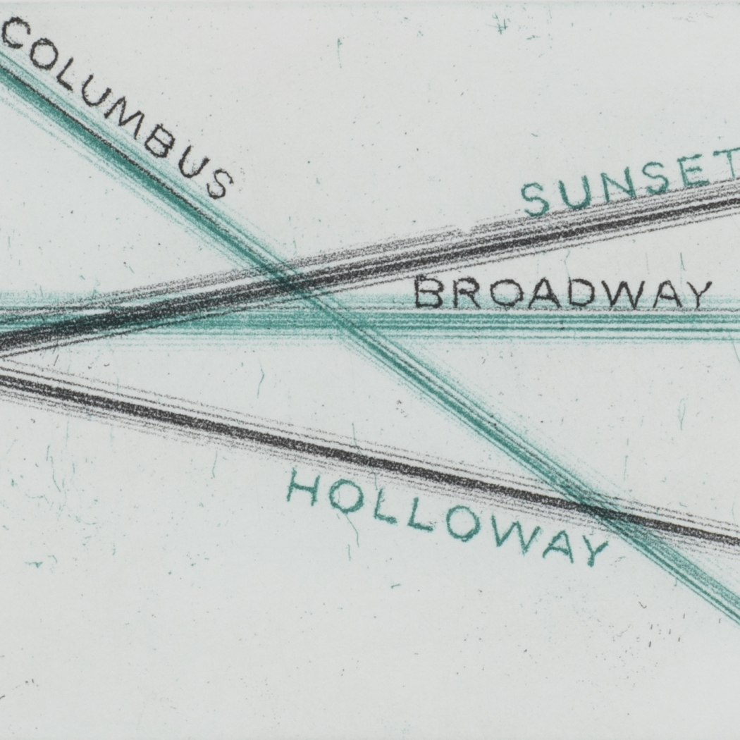 Ed Ruscha | Intersections