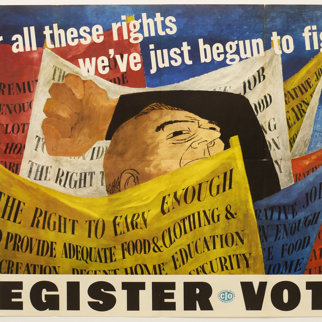 Ben Shahn: Register to Vote