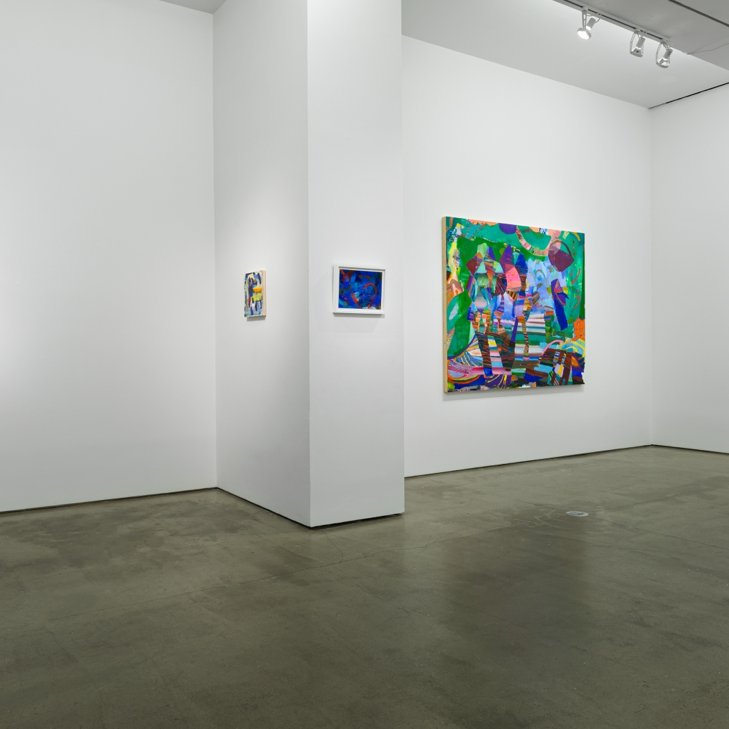 "Installation view of Carolyn Case exhibition ""Before it Sinks In"""