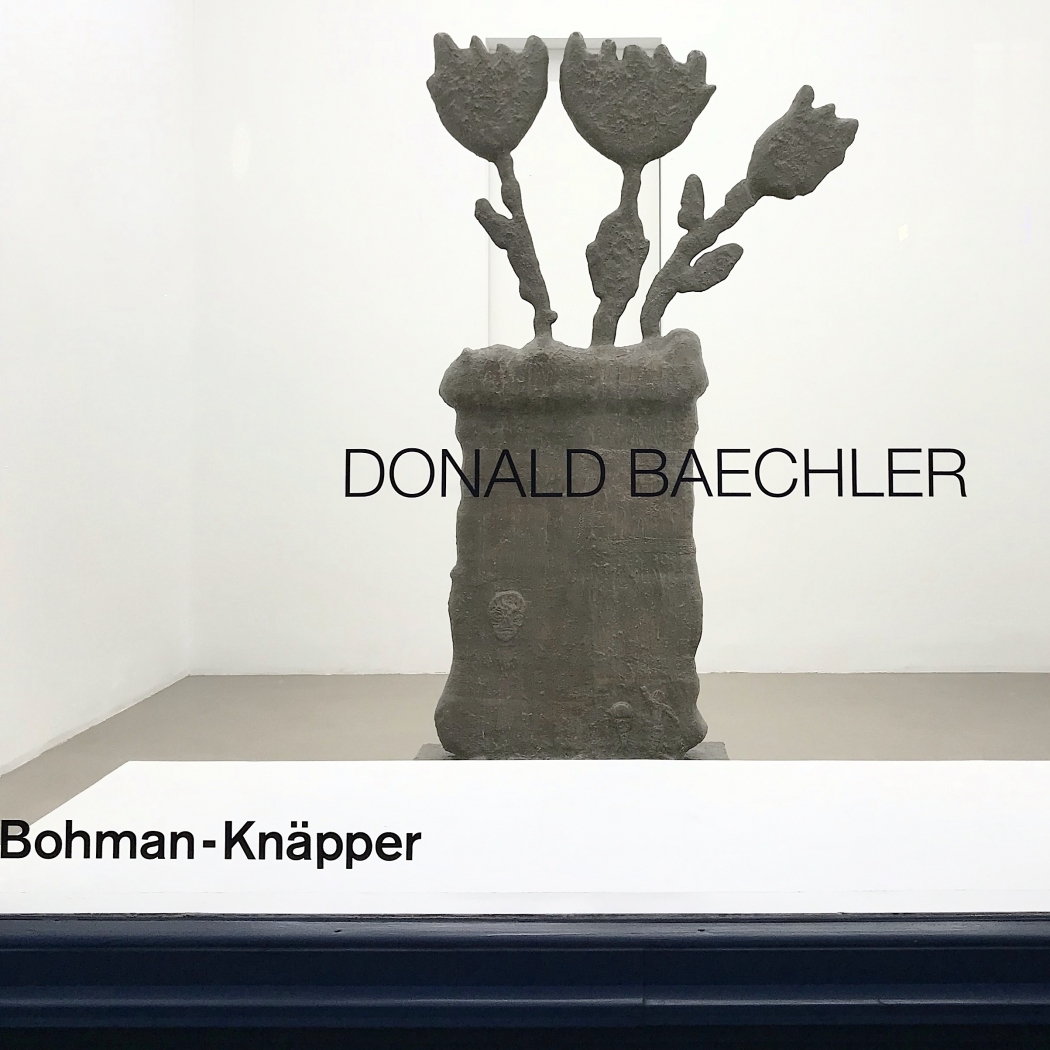 DONALD BAECHLER AT (DISPLAY) / RÅDMANSGATAN 15