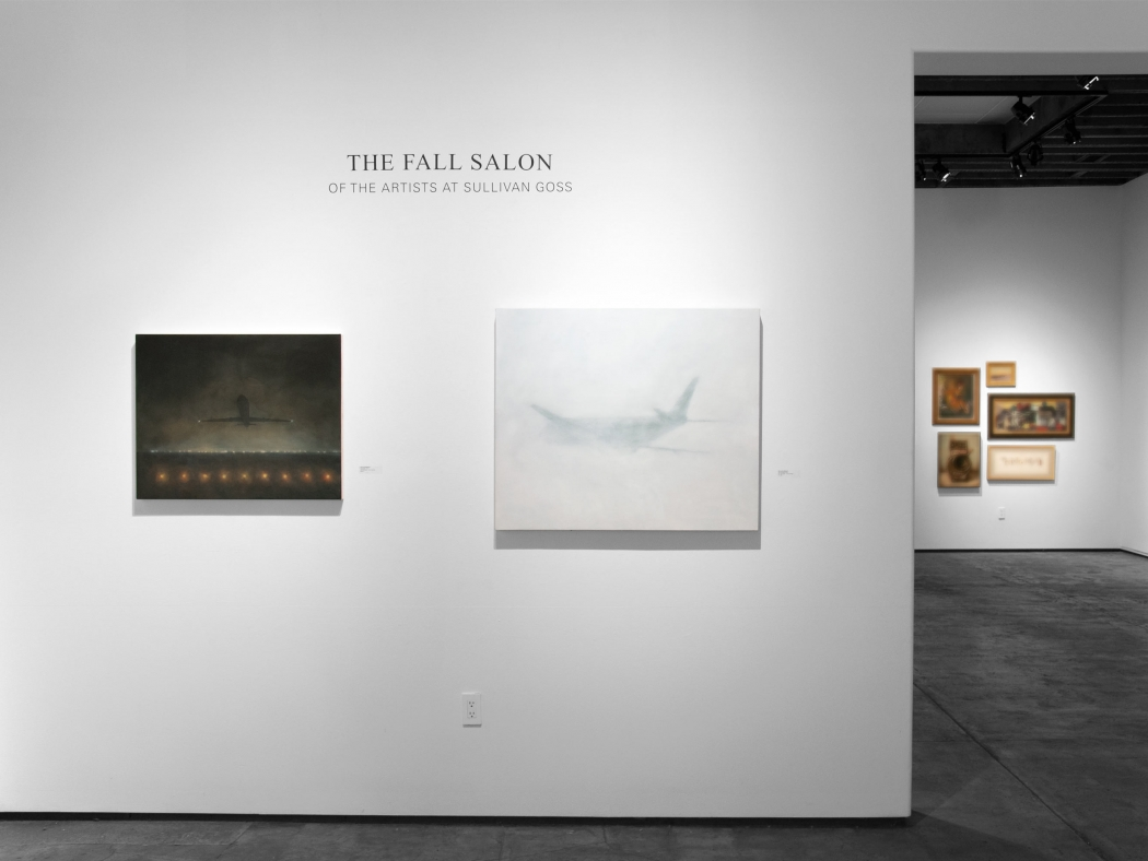 THE FALL SALON 2019 installation shot with work by Natalie Arnoldi