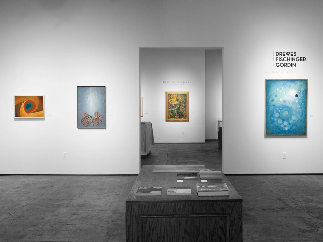 Installation photograph of DREWES   FISCHINGER   GORDIN: The Invention of American Abstract Art