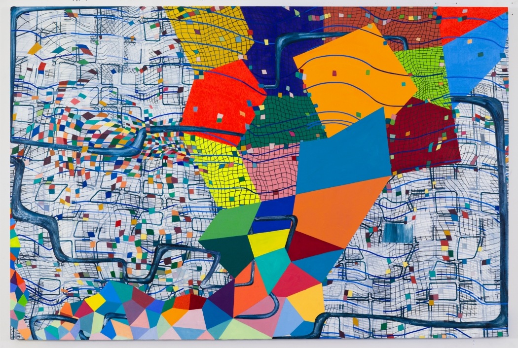 Lisa Corinne Davis' Capricious Calculations: The Brooklyn painter breaks the barrier between figuration and abstraction